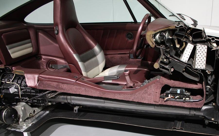 Porsche 959 Cutaway - Credit: Carson White