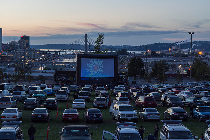 DRIVE-IN MOVIES AT ACM