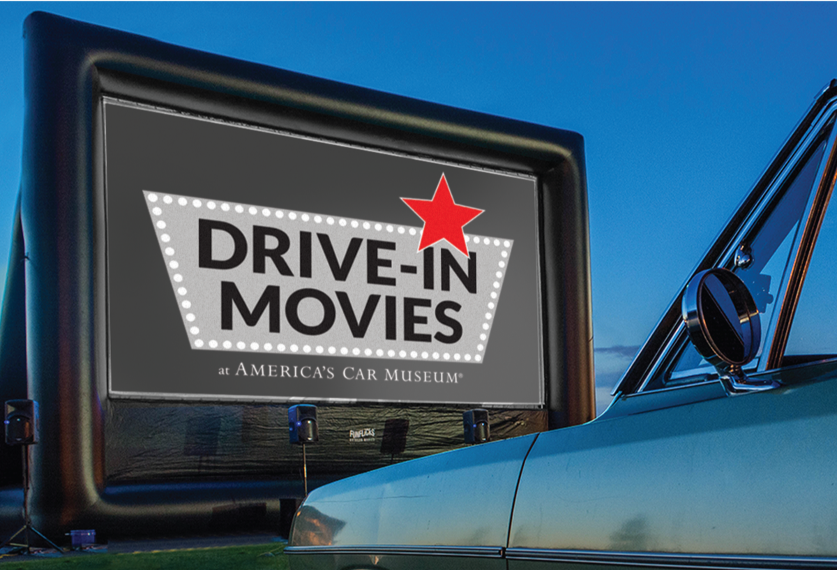 America's Car Museum Drive-In Movies Series