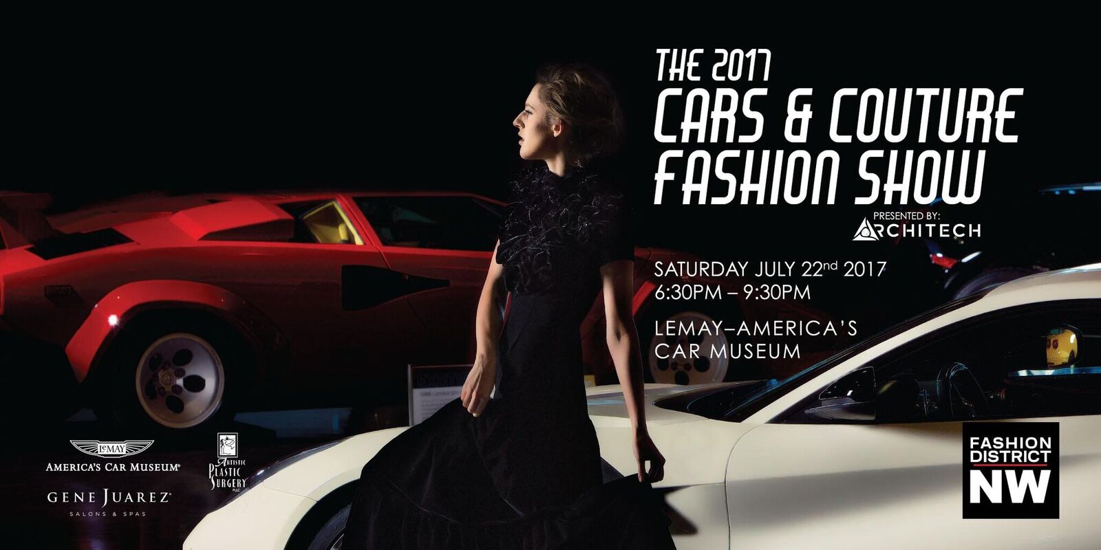 2017 Cars Amp Couture Fashion Show America S Car Museum