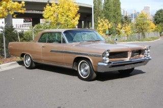 1963 Pontiac Bonneville 2 door hardtop