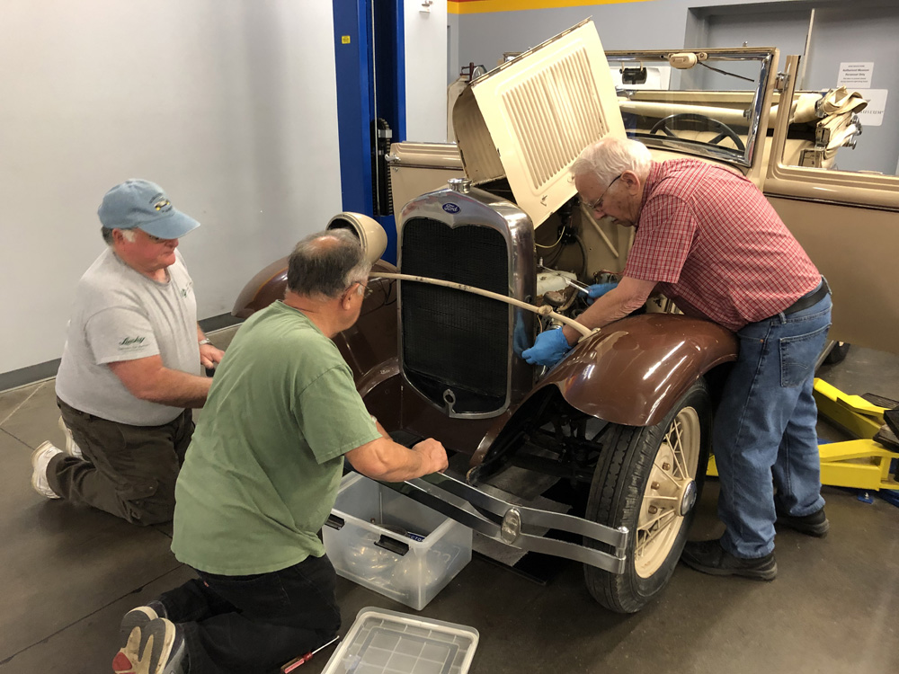 Ford Model A Restoration Project | America's Car Museum