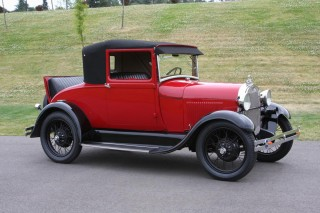 1928 Ford Model A Cabriolet