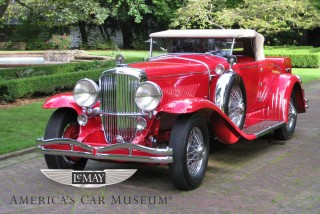 1930 Duesenberg Model J Roadster