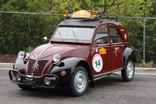 "1953 Citroen 2CV ""Peking to Paris"""