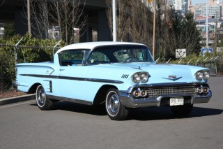 1958 Chevrolet Impala Special Sport Coupe